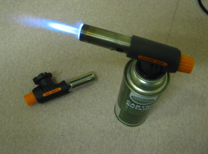 Handy gas cartridge Click start Torch